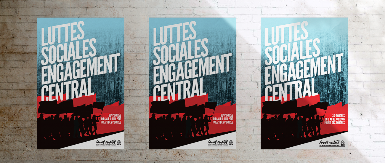 Luttes sociales, engagement central