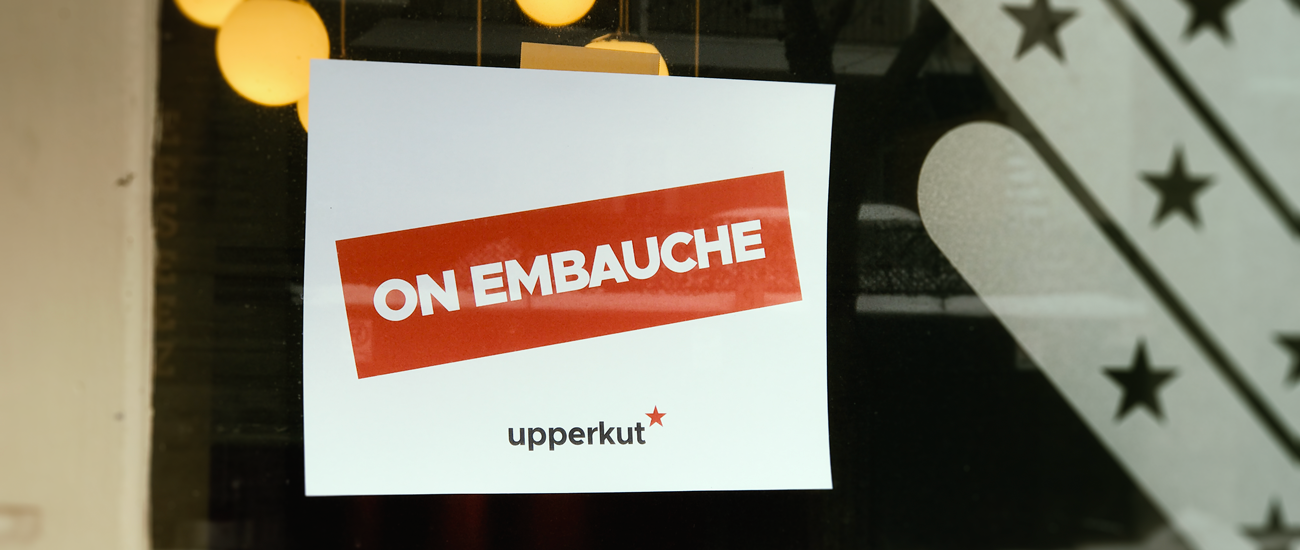 Upperkut embauche!