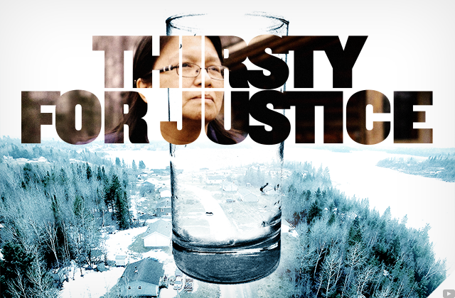 First Nations are #ThirstyForJustice