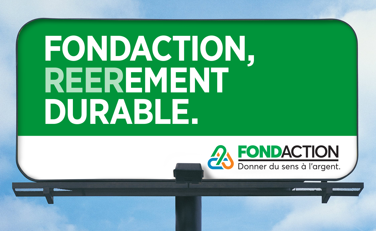 Fondaction lance une campagne REEREMENT surprenante!