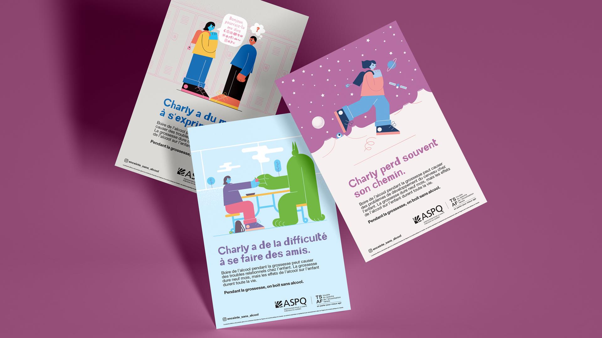 Une campagne pour faire face au trouble du spectre de l'alcoolisation fœtale