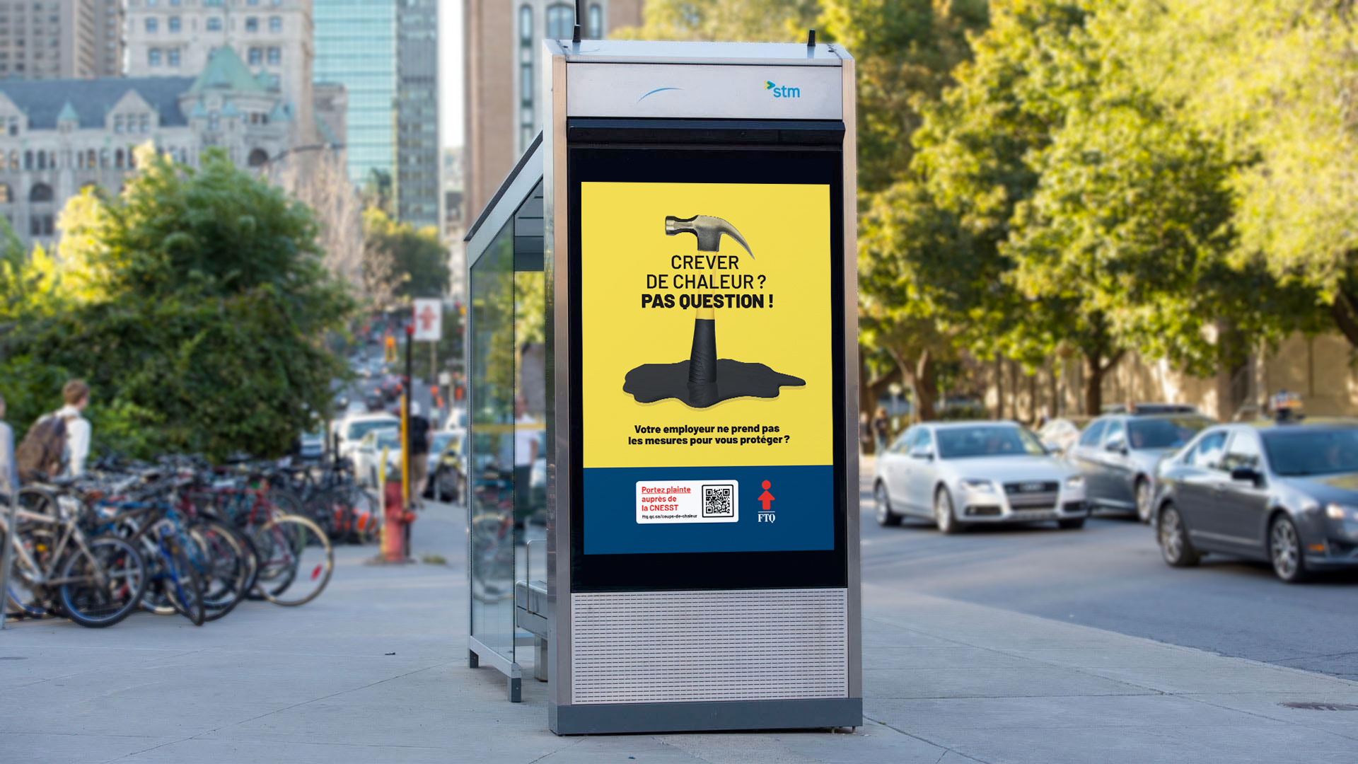 Une campagne de communication pour contrer les coups de chaleur en milieu de travail